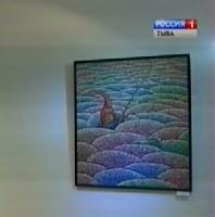 Работы Шоя Чурука выставлены в Горно-Алтайске