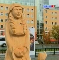 Тува участвует в международном фестивале парковой скульптуры на Ямале
