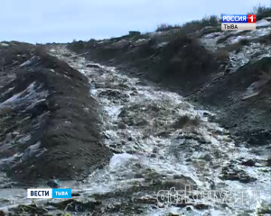 В Кызылском районе режим чрезвычайной ситуации