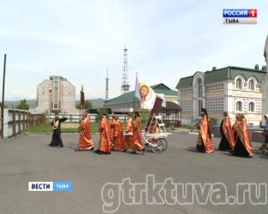 С молитвой за трезвую Туву. В Кызыле православные верующие объединились в крестном ходе