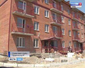 В Кызыле к сдаче готовят новый 32-квартирный  дом.